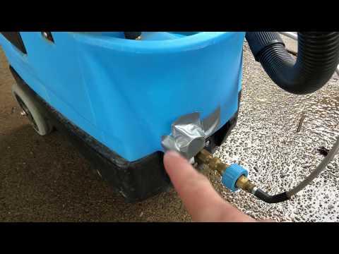 Mytee Lite Hot Water Extractor 8070 Solution tank drain cap