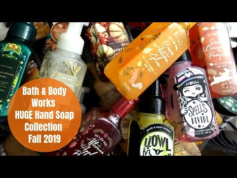 Bath & Body Works HUGE Foaming Hand Soap Collection - Fall 2019