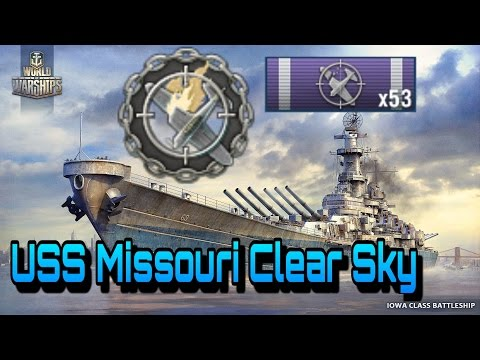 [BZD] World of Warships : Missouri clear Sky and 4 Reports [Replay]