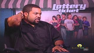 Ice Cube interviews for Lottery Ticket