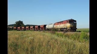 ESK086241 Slovakia Plešivec freight train ZSSK 751 tovorni teretni nákladné vlaky tehervonat godståg