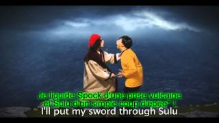 Columbus vs Captain Kirk - VOSTFR - Epic Rap Battles of History