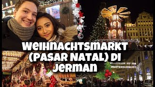 Jalan- jalan ke pasar natal di Jerman (Augsburg) #Youtuberindonesia #vloggerindonesia