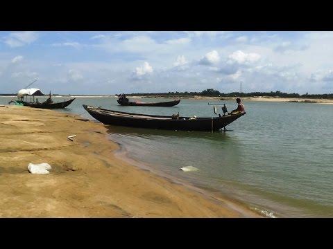 Great Picnic Spot - Damodar River At Palla Road, Burdwan, West Bengal, India