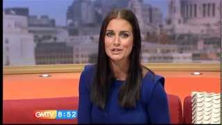 Repeat youtube video Kirsty Gallacher Pokies (Soft Nipples Go Hard On Live TV)