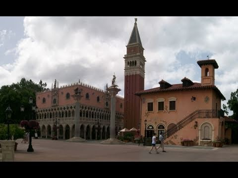 Italy Pavilion - Epcot World Showcase 2011 HD Tour/ Overview POV