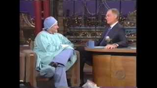 Robin Williams on Letterman Post Surgery 2000