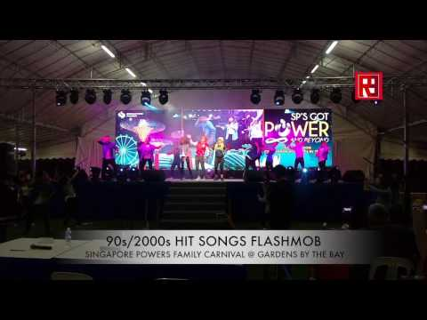 80s 90s 2000s HITS FLASHMOB - SINGAPORE POWERS @ GARDENS BY THE BAY