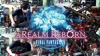 Repeat youtube video Final Fantasy 14 & 5 goes Rock - Battle on the Big Bridge