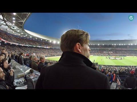 Een avondje Feyenoord met Jeroen Hertzberger