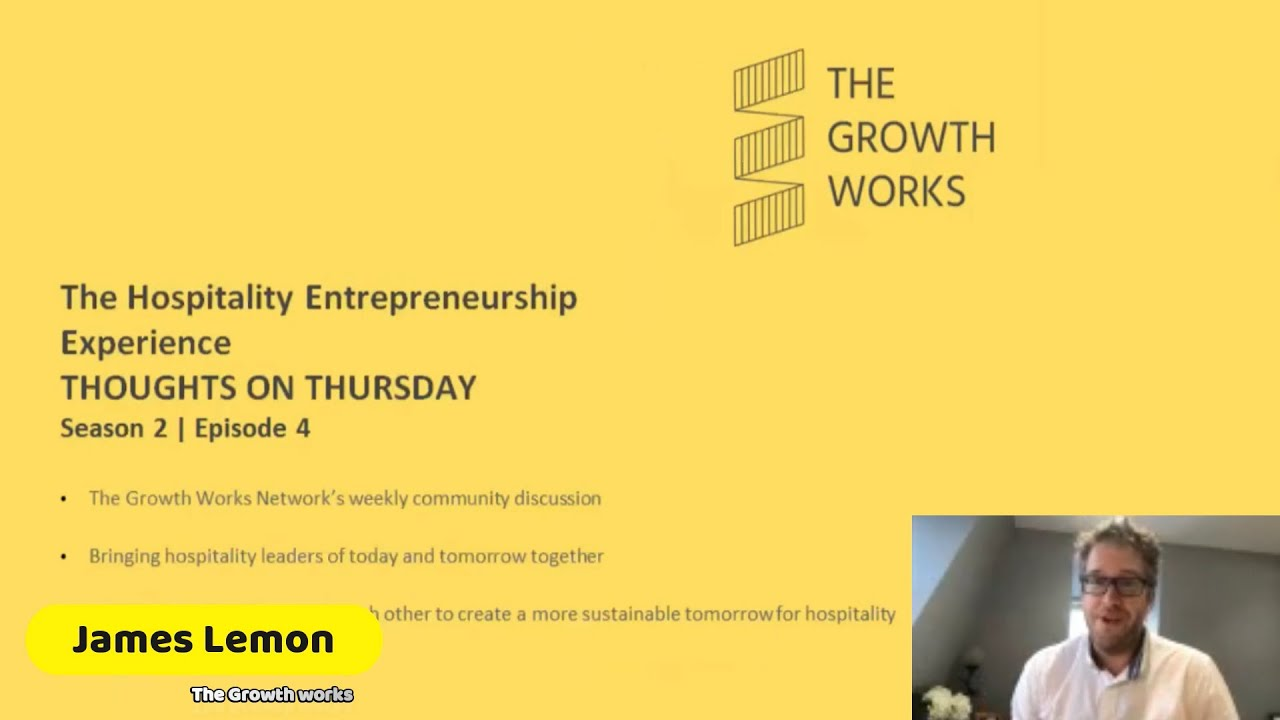 (Complete) The Hospitality Entrepreneurship Experience - Thoughts on Thursday