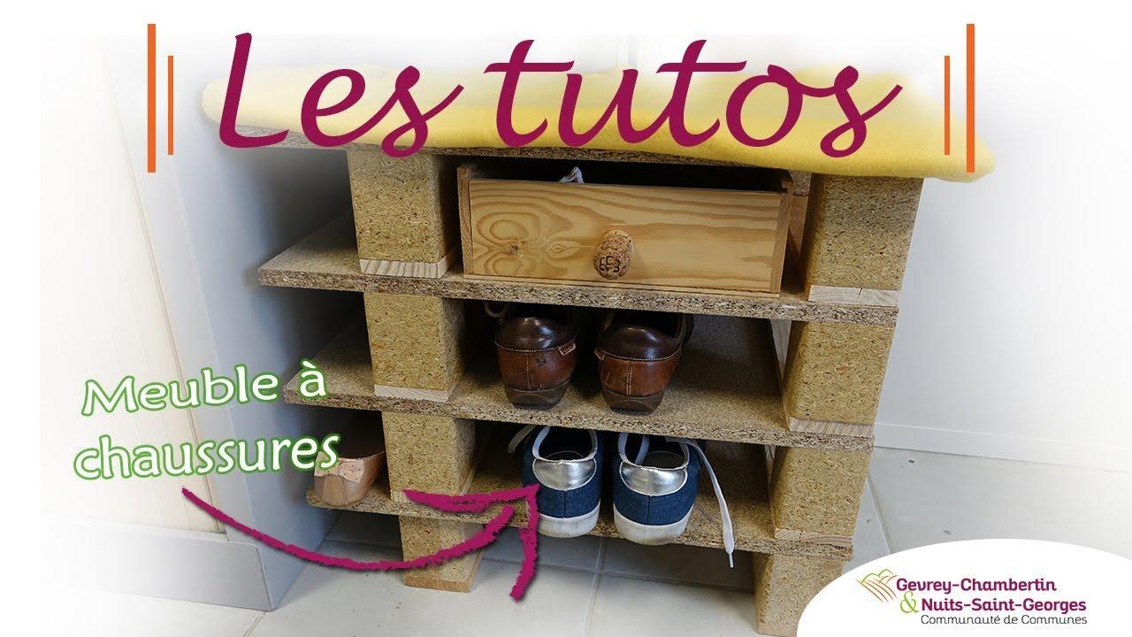 Faire Un Meuble A Chaussure En Palette #les tutos : un meuble à chaussures en palettes récup'
