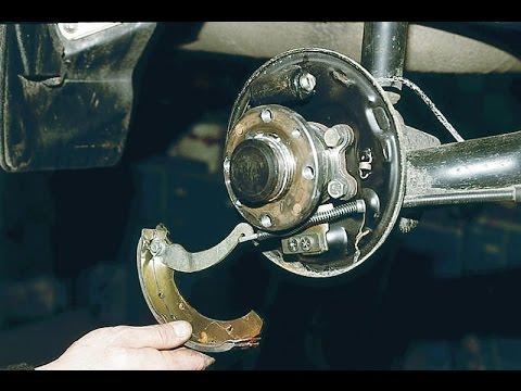 Задние тормозные колодки. Правильная замена. ВАЗ 2110-2112.