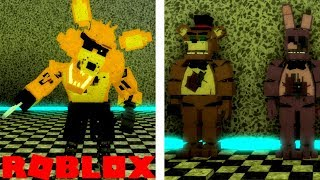 NEW Fading Foxy Gamepass And Prototype Animatronics in Roblox Fazbear's Reborn FNAF RP