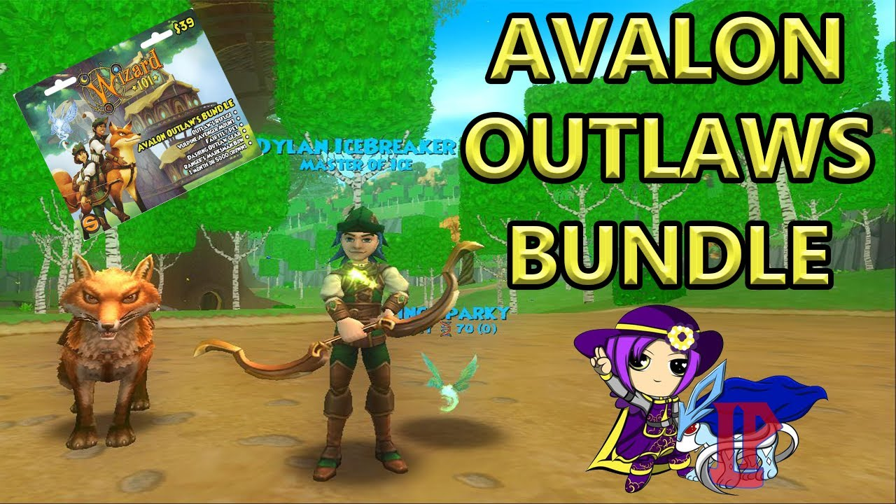 Wizard101 | NEW AVALON OUTLAWS BUNDLE REVEAL!