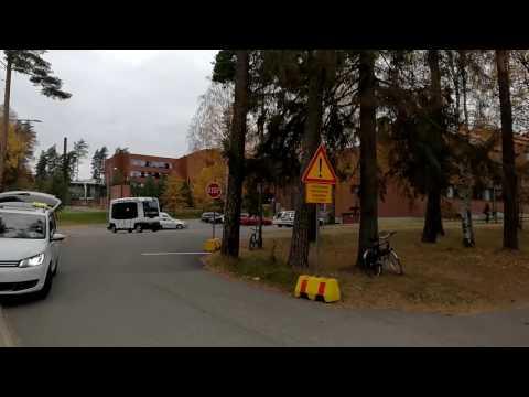 Automated Bus in Otaniemi