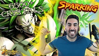 ZIEHEN WIR SPARKING LSSJ BROLY!? - 6500+ CRYSTALS DRAGON BALL LEGENDS SUMMONS! DB Legends