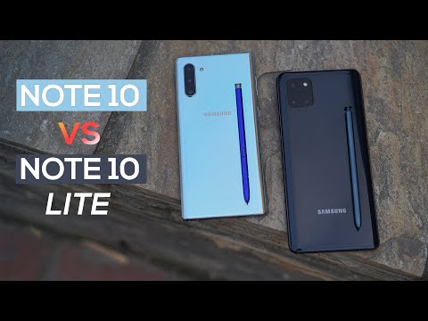 Samsung Note 10 Vs Note 10 Lite - Which One To Get?