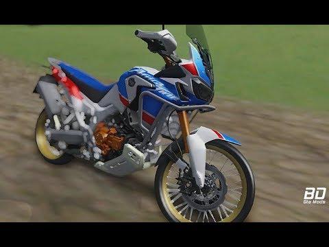 Honda CRF 1000L2 Africa Twin + Ronco Para GTA San Andreas