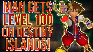 MAN GETS LEVEL 100 ON DESTINY ISLANDS IN KINGDOM HEARTS 1!? thumbnail