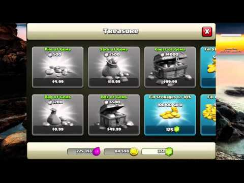 How to get UNLIMITED Clash of Clans Gems FREE EASY June 2014