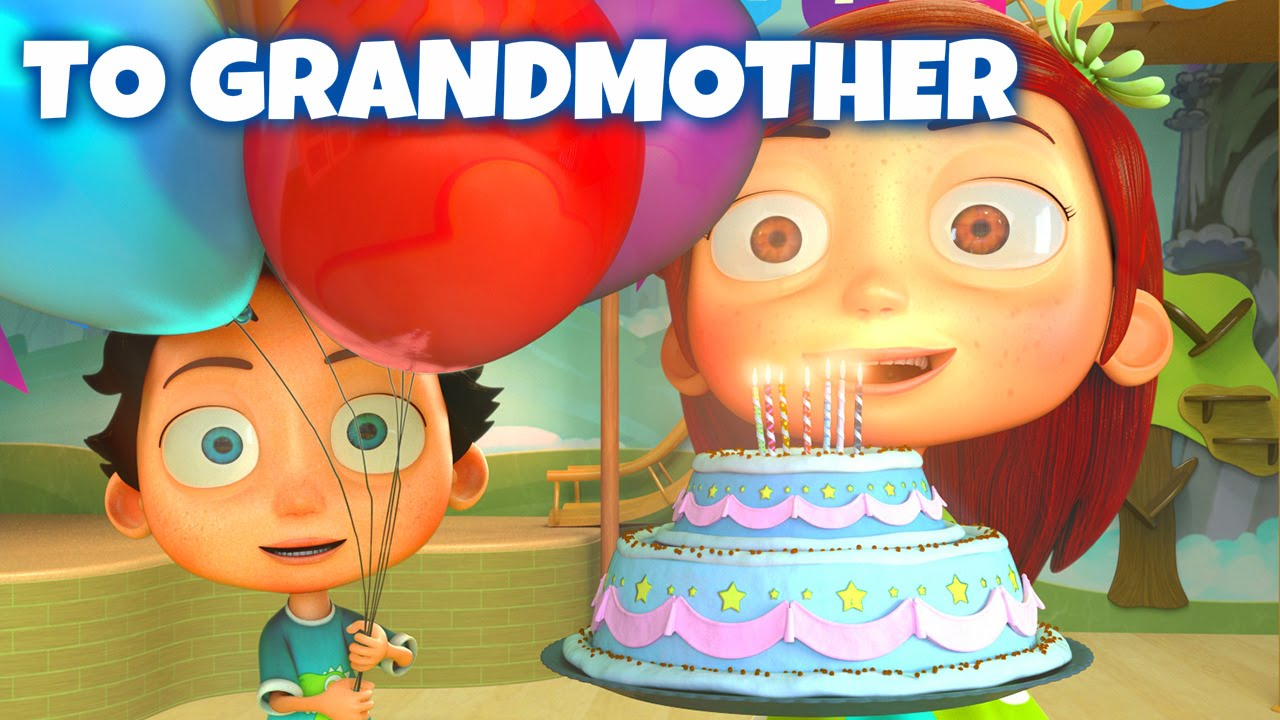 happy birthday song to grandmother youtube