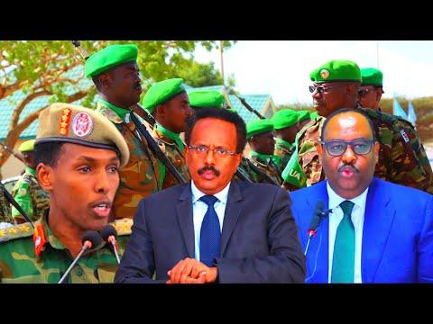Deg Deg Somalia Oo Dalbatay Ciidamada Eritrea, P/ Land Oo Qaraxyada Ku Eedeysay DF