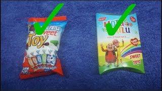 Моту Patlu Sweet Toy 6 Ірис і т. д. Моту Patlu Taste Yummy Sweet toys