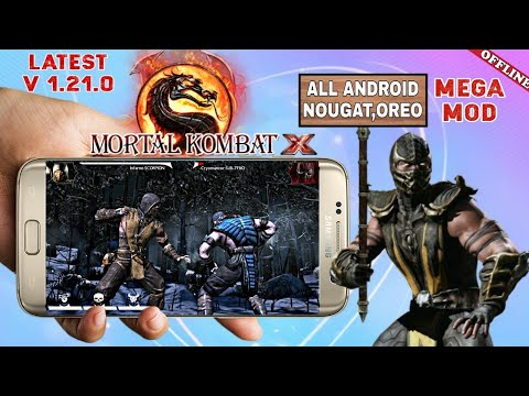 MORTAL KOMBAT X Mod Apk Download For All Android All GPU |Highly Compressed Offline Game| Hindi
