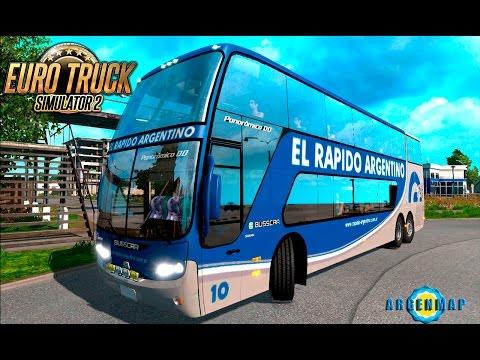 ETS2 |Rutas Argentinas| (Especial Pedido) - Mar del Plata - Retiro x Liniers - Panoramico  - DIRECTO