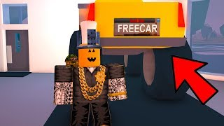 The Trick To Get A Free Monster Truck..  Roblox Jailbreak