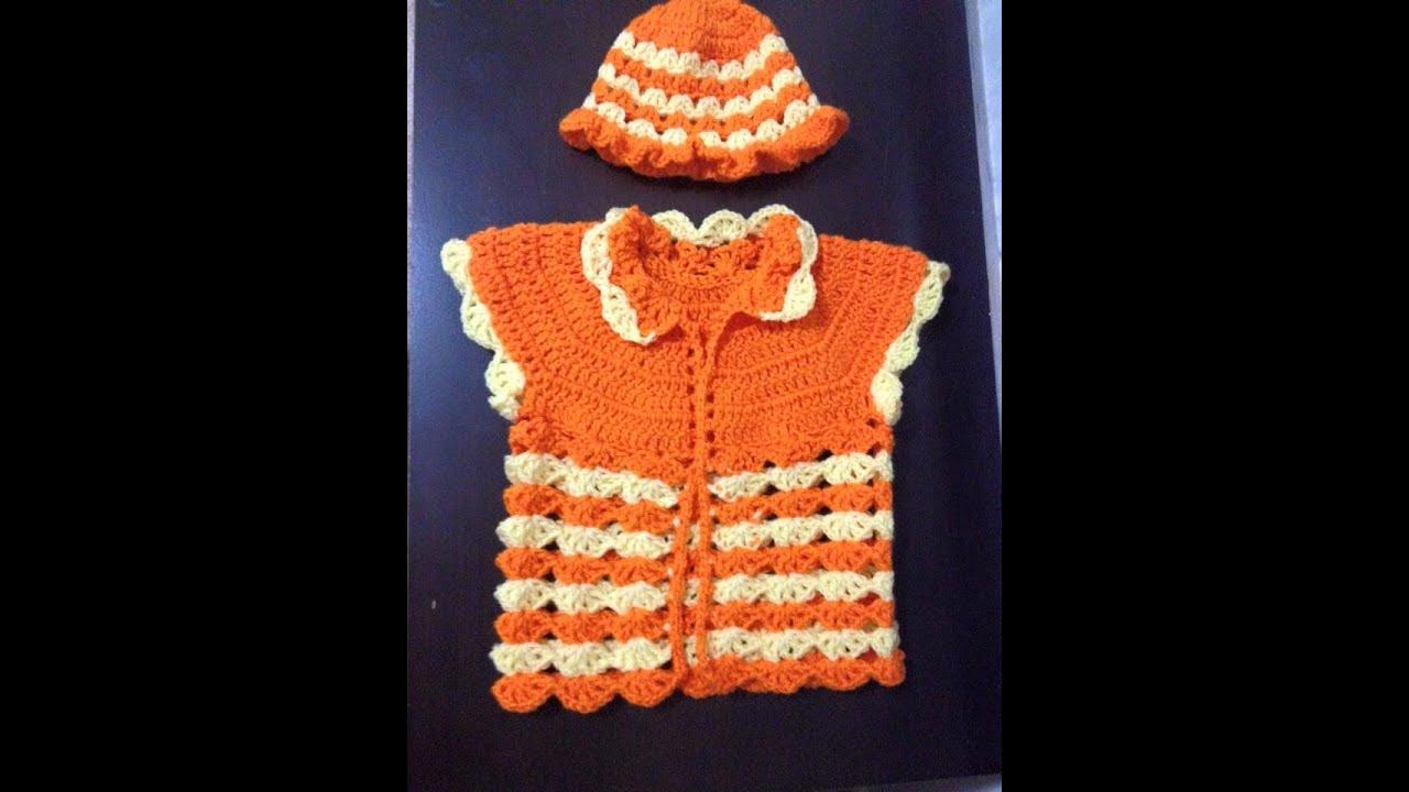 2fa76e992 Simple baby sweater crochet Tamil English - video 1 - YouTube