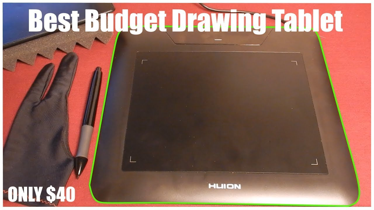 Huion 680s Graphics Tablet Review - Best Budget Graphics Tablet!!