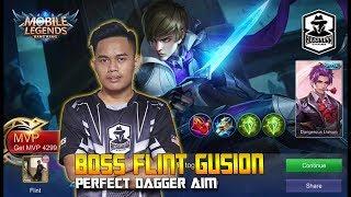 Gusion Boss Flint Memang Laju!! Best Gameplay & Build   Mobile Legends: Malaysia