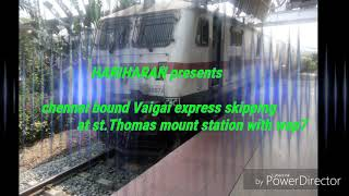 VAIGAI express Greeted with aggression by WAP7