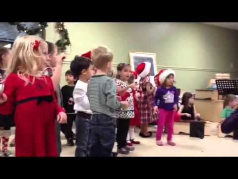Abby's Holiday Performance at Greenhouse Montessori