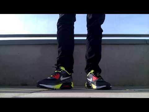 Nike Air Max Lunar90 C3.0 Volt On Feet
