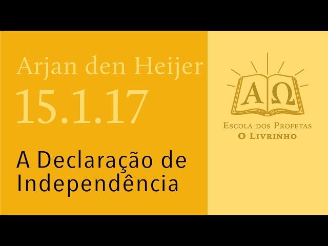 (15.1.17) A Declaração de Independência
