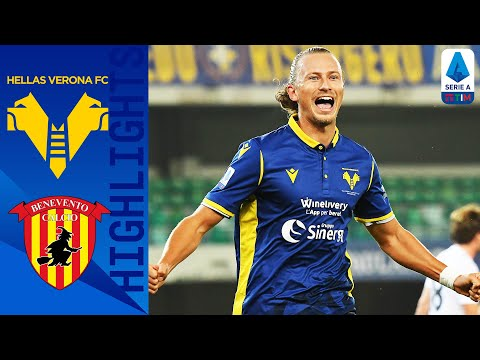 Helas Verona Benevento Goals And Highlights