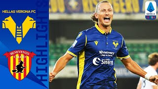 A brace from antonin barak secured the points for hellas verona at home to benevento | serie timthis is official channel a, providing all...