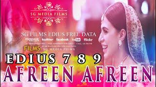 Afreen Afreen New 2020 Edius 7 8 9 Project Free Download SG Media