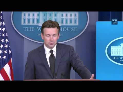 09/12/16: White House Press Briefing