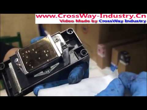 Epson DX5 DX7 Print head repairs and maintenance