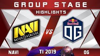 OG vs NaVi TI9 The International 2019 Highlights Dota 2
