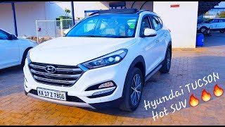 Hyundai Tucson 2019 4WD AT GLS with panoramic sunroof detailed review with on road price India