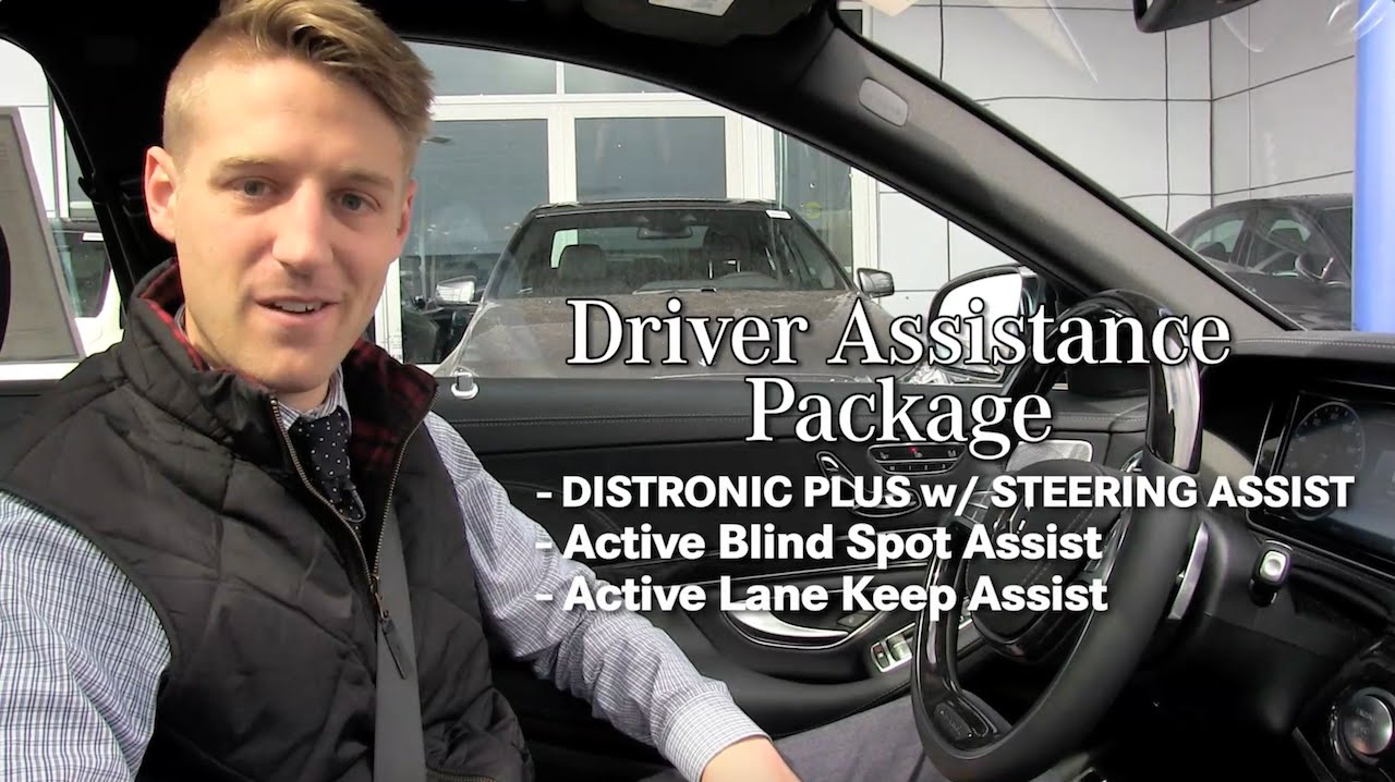 Mercedes-Benz Driver Assistance Package  - Distronic Plus, Lane Keep Assist, Blind Spot Assist