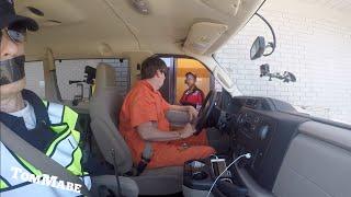 Prisoner Drive Prank  2!  Tom Mabe - Pivot Head Giveaway