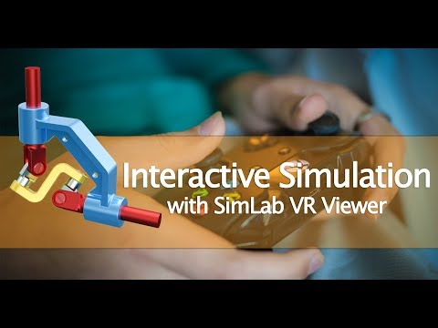 SimLab Composer: Tutorial for VR Interactive Simulation