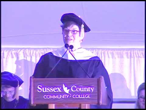 Sussex County Community College Commencement 2018
