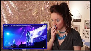 Vocal Coach REACTS to NIGHTWISH - THE POET AND THE PENDULUM  LIVE AT WEMBLEY 2016